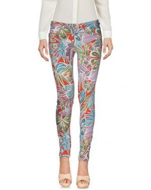 Повседневные брюки SIVIGLIA WHITE. Цвет: красный