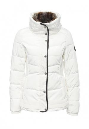 Куртка утепленная Halifax. Цвет: белый