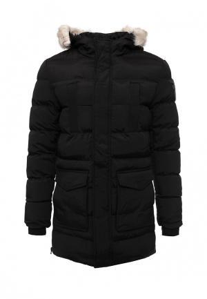 Куртка утепленная Just Key. Цвет: черный