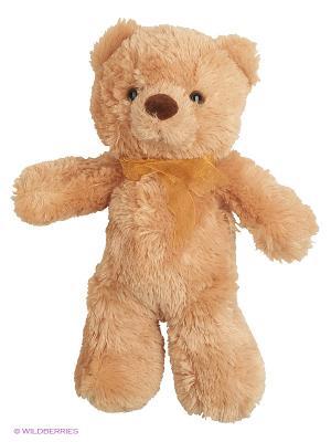 Игрушка мягкая Медведь 32 см Aurora. Цвет: коричневый