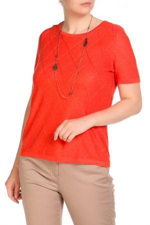 Блуза LAVELLE. Цвет: красный