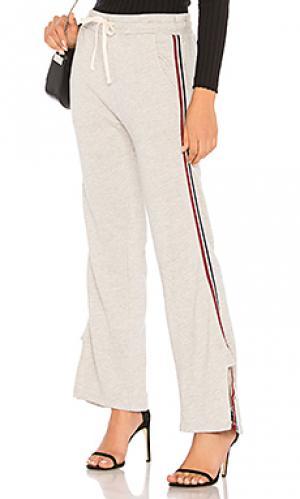 Спортивные брюки SUNDRY. Цвет: серый