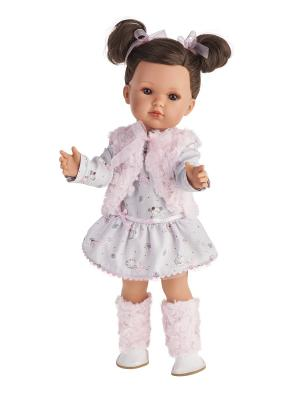 Кукла Белла в розовом жилете , 45см Antonio Juan. Цвет: бледно-розовый