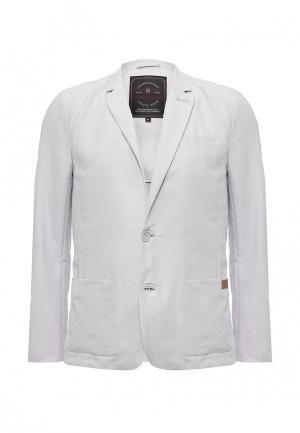 Пиджак Finn Flare. Цвет: серый