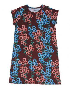 Платье MINI RODINI. Цвет: какао