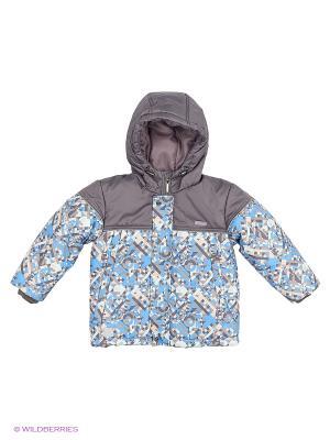 Куртка Hippo Hoppo. Цвет: серо-голубой