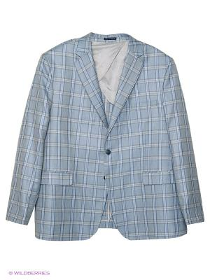 Пиджак IFC. Цвет: светло-голубой