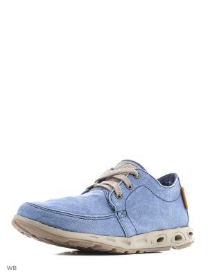 Ботинки Columbia. Цвет: голубой