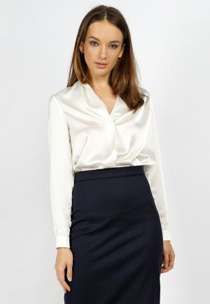 Блуза BURLO. Цвет: белый