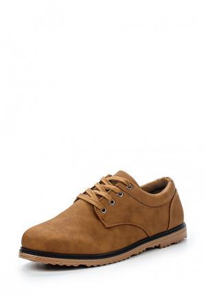Полуботинки T.P.T. Shoes. Цвет: коричневый
