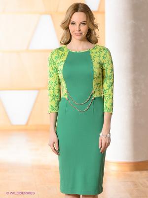 Платье Vaide. Цвет: зеленый