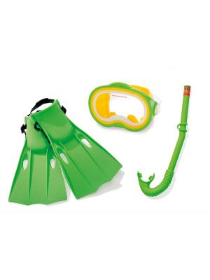 Набор для плавания Intex. Цвет: прозрачный