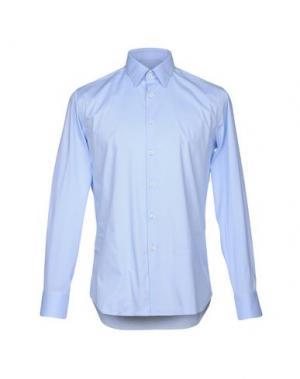 Pубашка MANUEL RITZ. Цвет: небесно-голубой