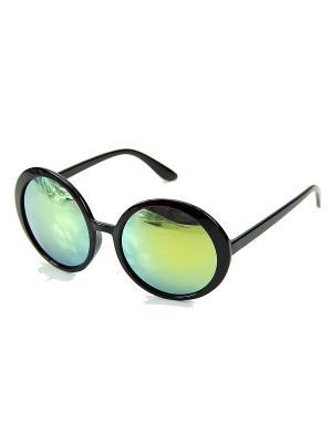 Солнцезащитные очки Leya.. Цвет: черный