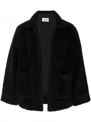 Patch pocket coat Doublet. Цвет: чёрный