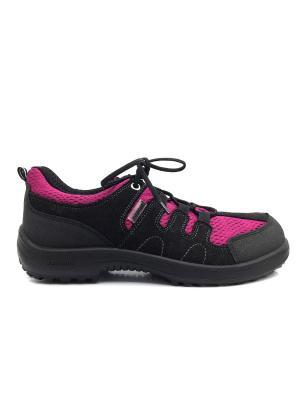 Ботинки KUOMA. Цвет: черный, фуксия