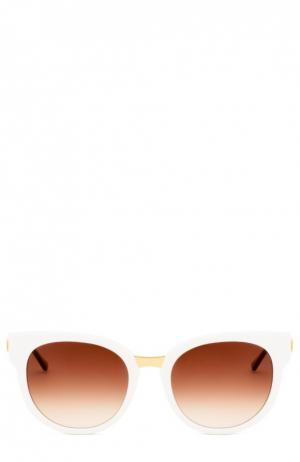 Очки солнцезащитные Thierry Lasry. Цвет: белый