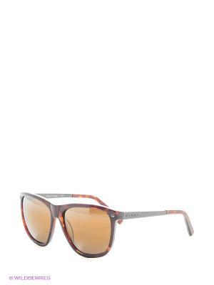 Солнцезащитные очки VL 1314 0004 PX2000 Vuarnet. Цвет: черный, коричневый