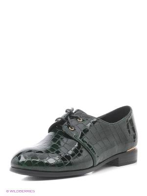 Туфли LINO MORANO. Цвет: зеленый