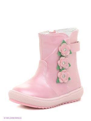 Полусапожки Mursu. Цвет: розовый