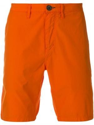 Шорты-чинос Ps By Paul Smith. Цвет: жёлтый и оранжевый