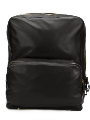 Кожаный рюкзак Pierre Hardy. Цвет: чёрный