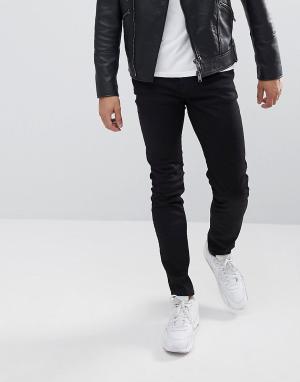 WESC Черные джинсы узкого кроя Alessandro. Цвет: черный