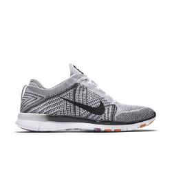 Женские кроссовки для тренинга  Free TR 5 Flyknit Nike. Цвет: белый