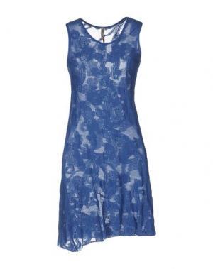 Короткое платье ALMERIA. Цвет: пастельно-синий