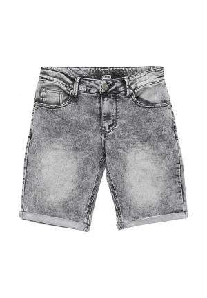 Шорты джинсовые Blukids. Цвет: серый