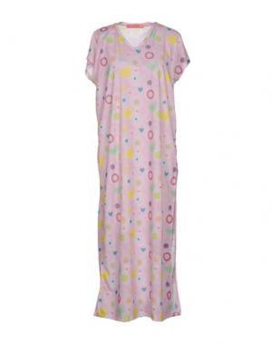 Платье длиной 3/4 AGATHA RUIZ DE LA PRADA. Цвет: светло-розовый