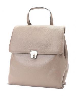 Рюкзаки и сумки на пояс ANTONELLA ROMANO. Цвет: голубиный серый