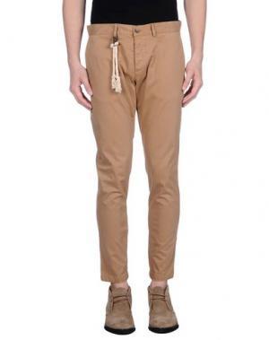 Повседневные брюки BASICON. Цвет: верблюжий