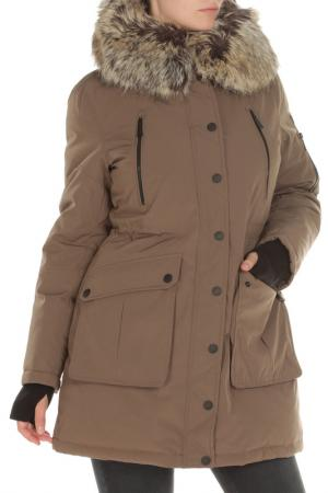 Куртка BCBG. Цвет: 243, truffle