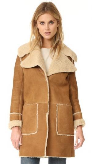 Пальто Fairport из короткой шерсти M.i.h Jeans. Цвет: бронзовый