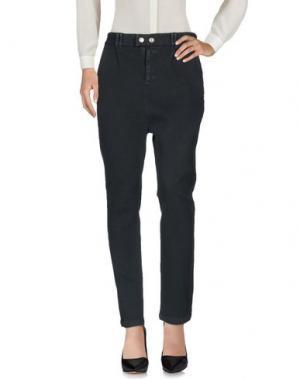 Повседневные брюки BAD SPIRIT. Цвет: свинцово-серый