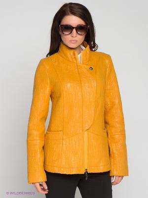 Куртка RIO VERTI. Цвет: желтый