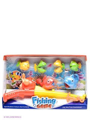 Набор игровой Рыбалка S-S. Цвет: голубой, желтый, зеленый, красный