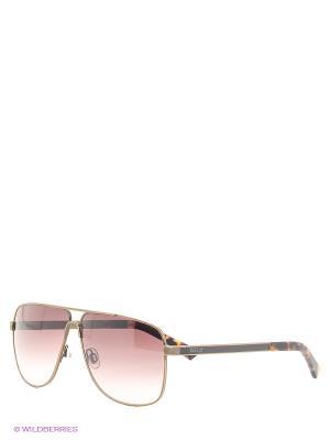 Очки солнцезащитные Replay. Цвет: коричневый, золотистый