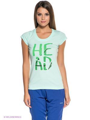 Футболка Nip T-Shirt HEAD. Цвет: зеленый