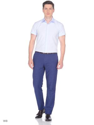 Рубашка Nicolo Angi. Цвет: светло-голубой