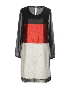 Короткое платье NIZA. Цвет: черный