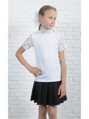 Блузки ZEBRA KIDS. Цвет: белый