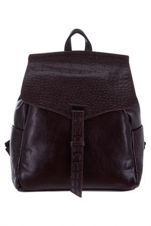Рюкзак BAGSTONE. Цвет: коричневый