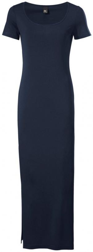 Платье из джерси Otto. Цвет: синий