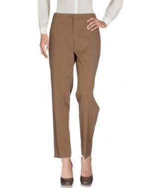 Повседневные брюки AKRIS. Цвет: хаки