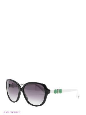 Солнцезащитные очки BLD 1504 204 Baldinini. Цвет: черный, белый