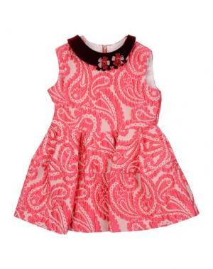 Платье MIMISOL. Цвет: фуксия