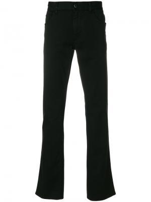 Расклешенные джинсы Prada. Цвет: чёрный