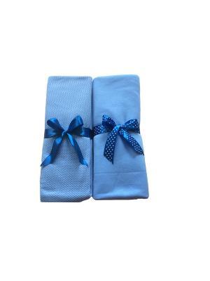 Комплект пеленок Дашенька. Цвет: голубой